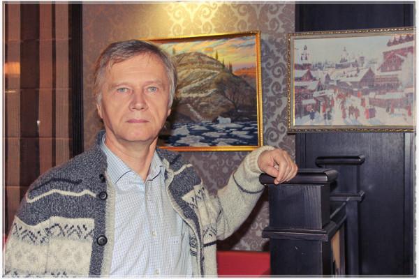 Всеволо Иванов живописец-славянист