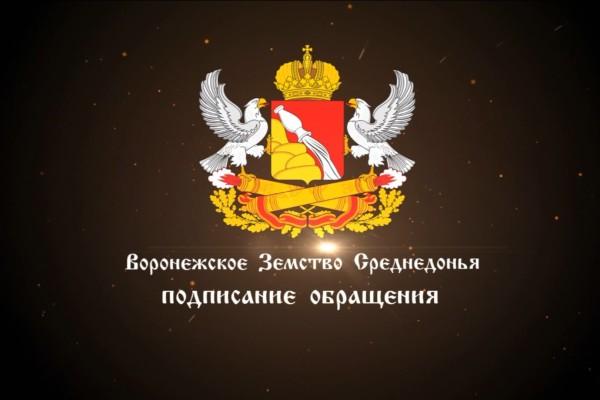 Воронежское Земство Среднедонья 3-е Вече
