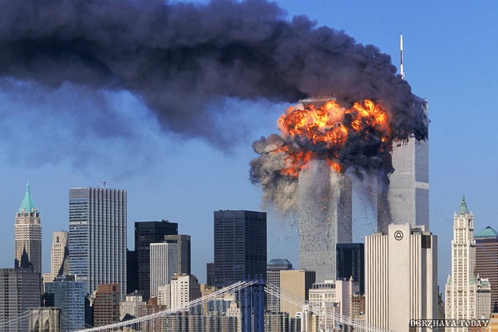 Взрыв башен Всемирного торгового центра 9.11