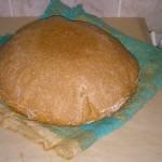 Бездрожжевой хлеб на яблочной закваске
