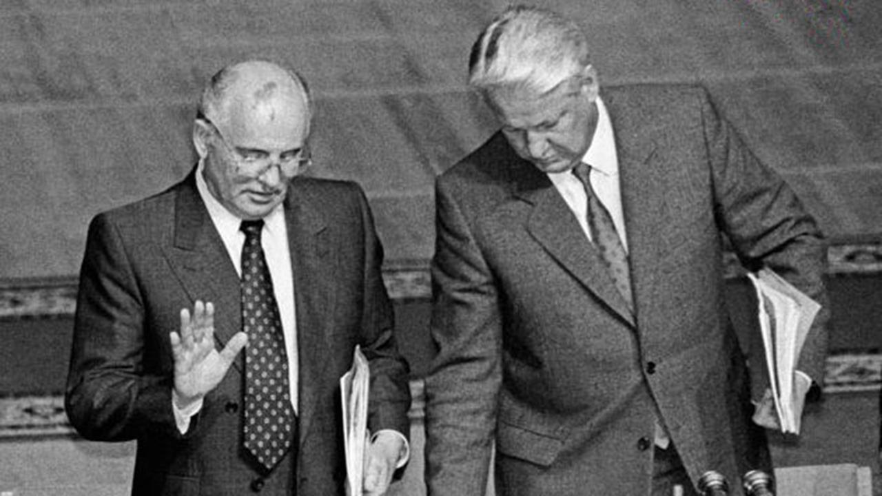 gorbachev-eltsin