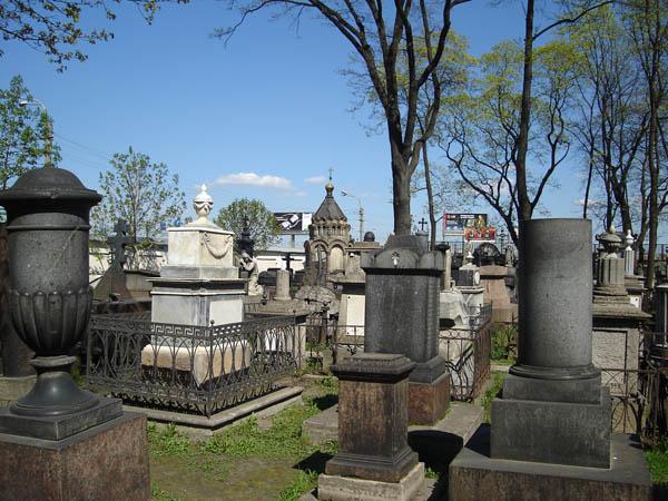 Кладбище Александро-Невской Лавры