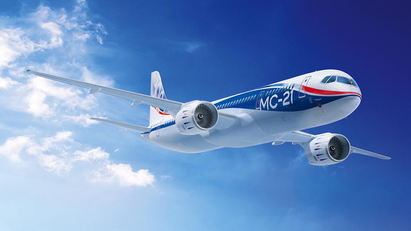 Первая презентация российского самолёта МС-21 состоится весной