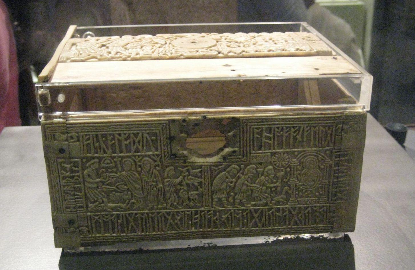 Тайны ларца из британского музея. Ларец «Franks casket»