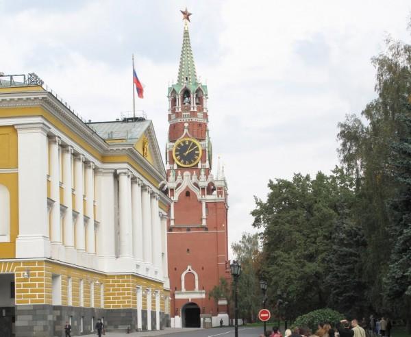 Русские часы. Спасская башня