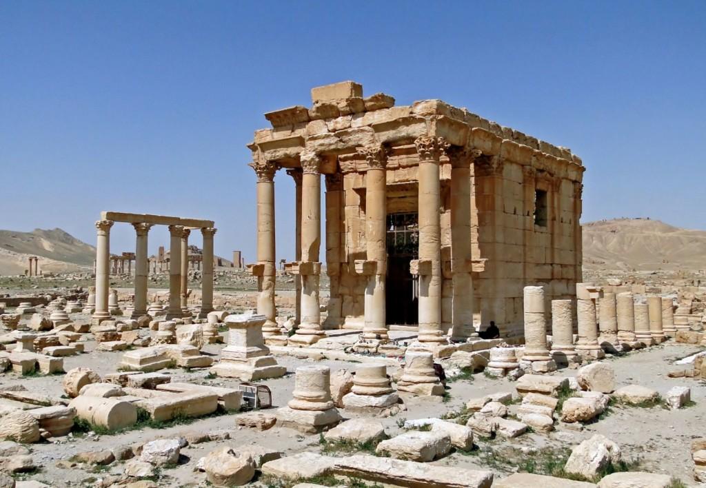 Храм Ваала. Наше время