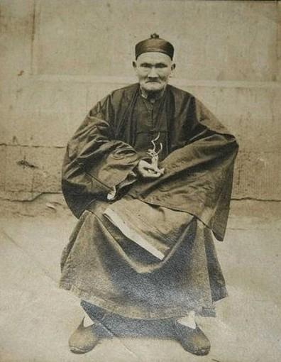 Ли Цинъюнь, здесь ему уже более 200 лет