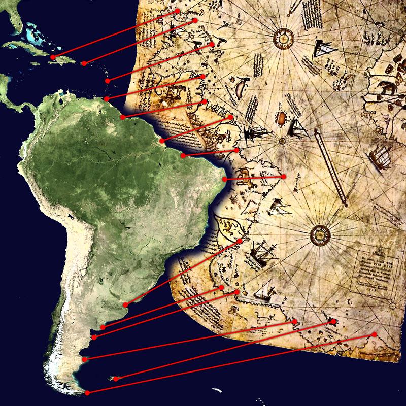 Колумб вместо этого целенаправленно устремился на Запад