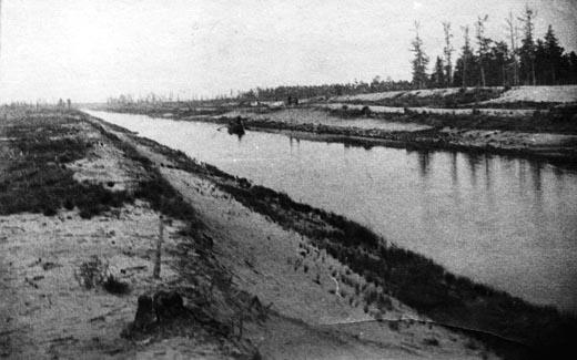 Обь-Енисейский канал. Старая фотография
