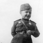 Шестилетний защитник Серёжа Алёшков