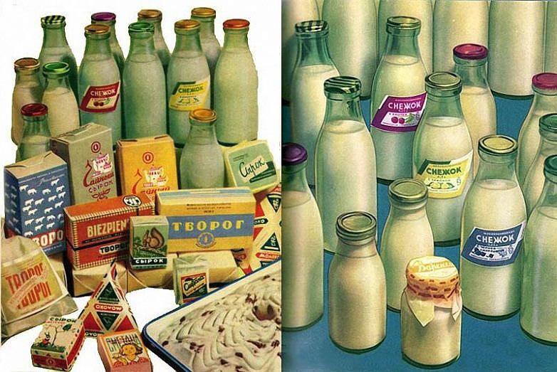 Молочная продукция СССР