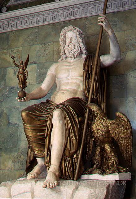 A-362;0; Statue of Jupiter.