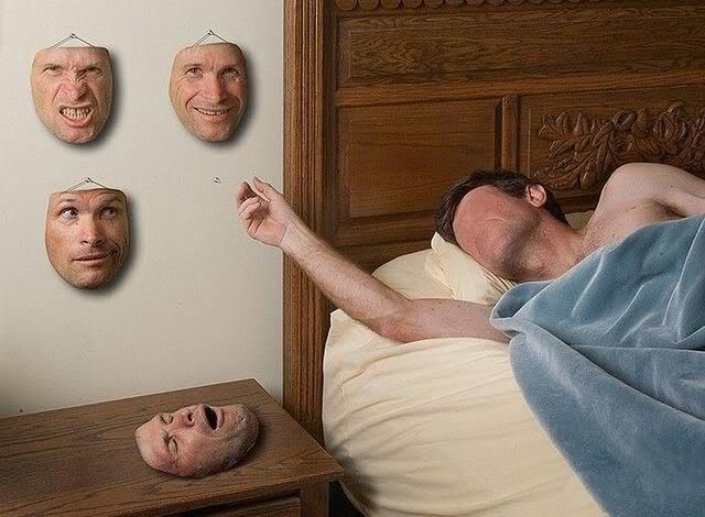 Человек и Персона (маска)