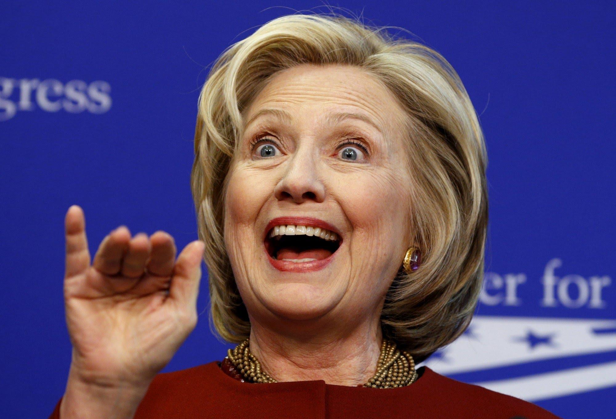 Хиллари Клинтон не в себе