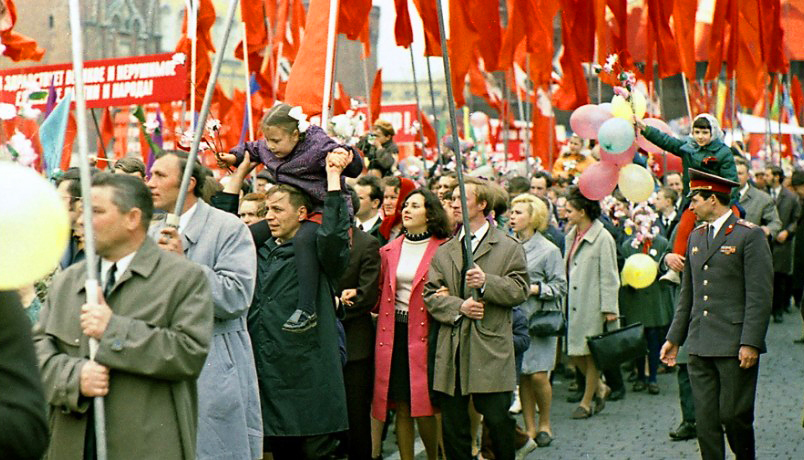 Короткое обращение к гражданам СССР.
