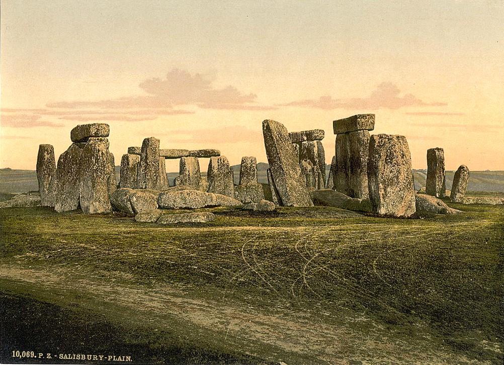 [Stonehenge, Salisbury, England]
