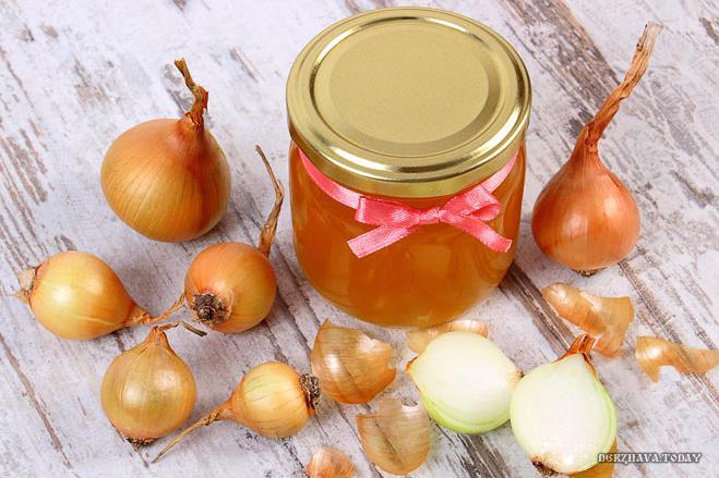 луковый сок и мед