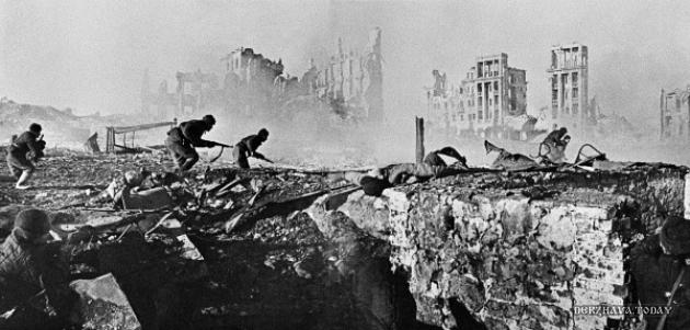 Причинённый ущерб во время войны