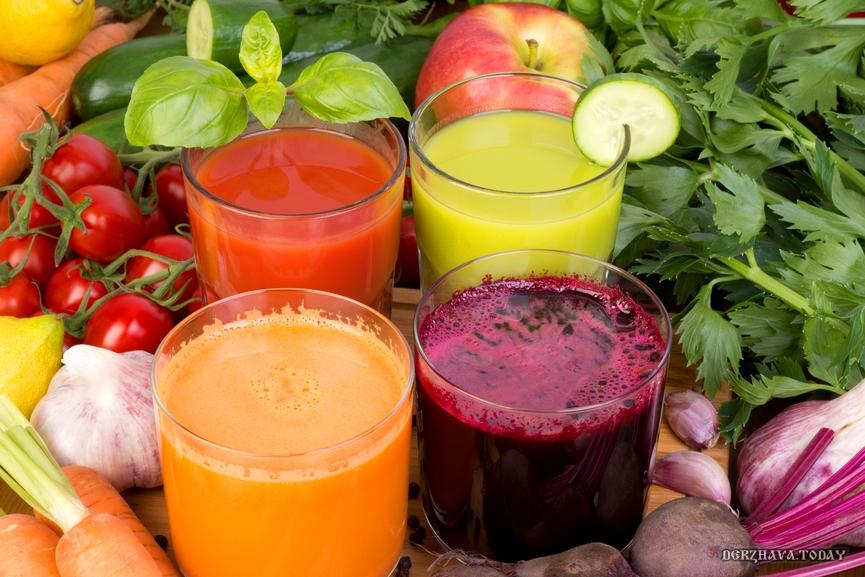 Когда вы в последний раз пили овощные соки?