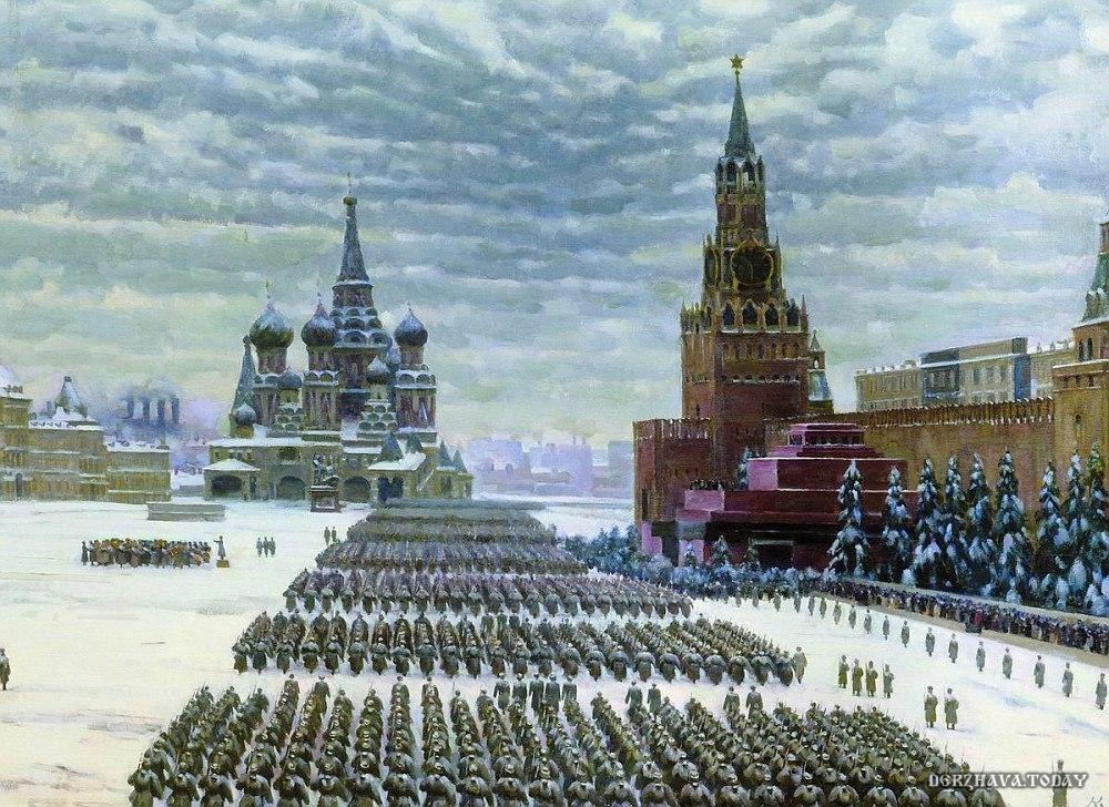 Шествие 27 млн. душ по Красной площади. Путь в 3,5 года