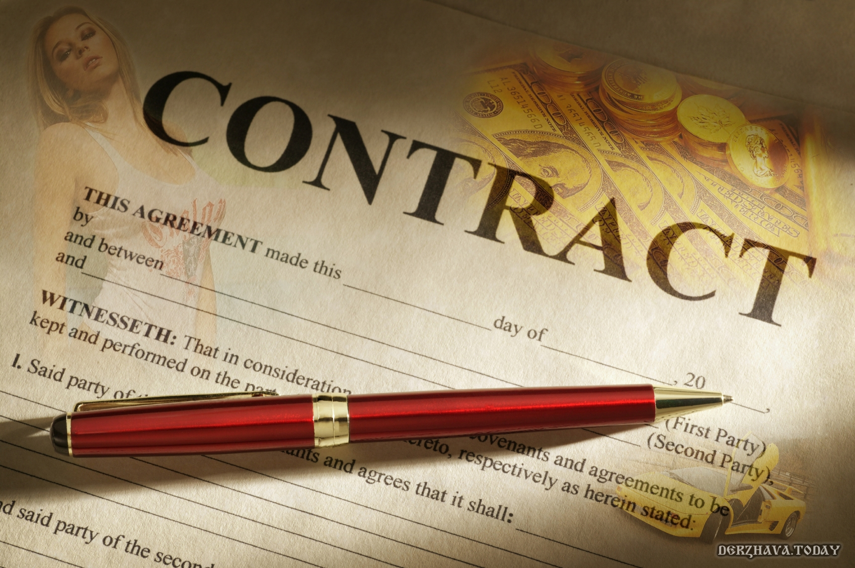 Торговый контракт. $ 500'000.00 в год