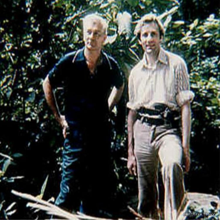 Слева Хуан Мориц, справа Стэнли Холл в 1973 году
