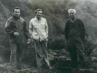 Слева Джерардо Пена Матеусом (Gerardo Pena Matheus), по центру Стэн Холл (Stan Hall), справа Хуан Мориц (Juan Moricz)