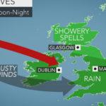 Тропический шторм «Рина» угрожает Ирландии и Великобритании