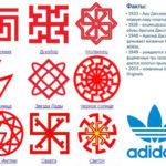 Адидас древнее «древнего славянского» названия знака «молвинец» на целых 40 лет?