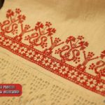 Старинная русская вышивка Шов «роспись»